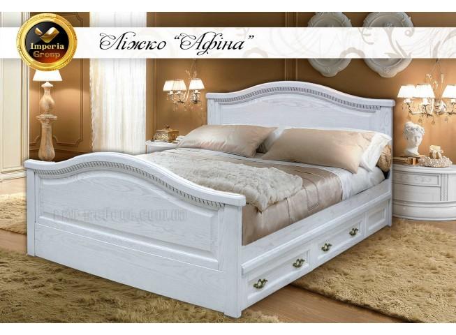 """Кровать """"AFINA"""" из натурального дерева"""