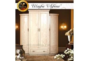 Шкаф из натурального дерева Афина