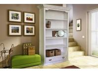 """Шкаф для книг """"MERLIN"""" из натурального дерева"""