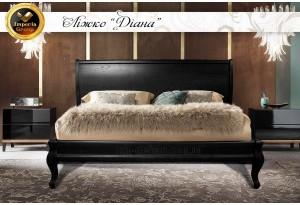 Кровать Диана из натурального дерева