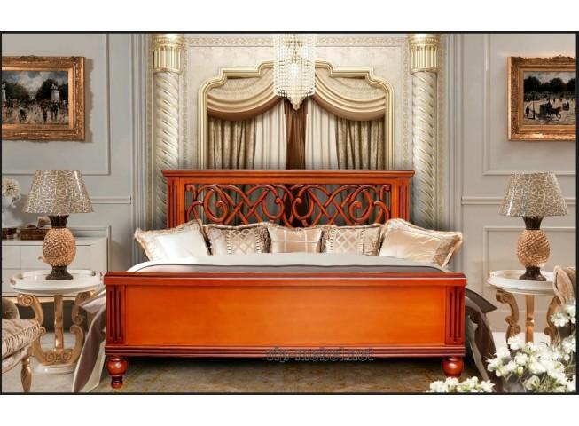 Кровать Флоренция из натурального дерева