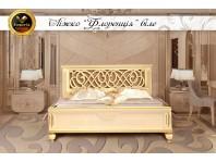"""Спальня """"FLORENCIA"""" белая из натурального дерева"""