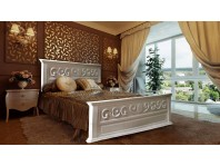 """Кровать """"ORNELA"""" из массива дерева"""