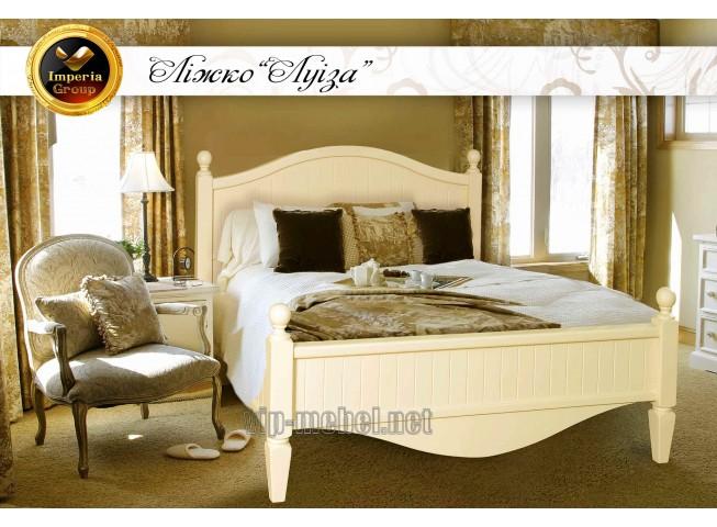 Кровать Луиза из массива дерева
