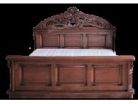 Кровать Сакура из массива дерева