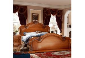 Кровать Сандера из массива дуба