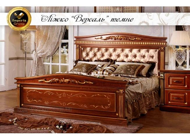 """Кровать """"VERSAL-GOLD"""" из массива дерева дуб"""