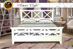 """Кровать """"SOFI"""" из массива дерева"""