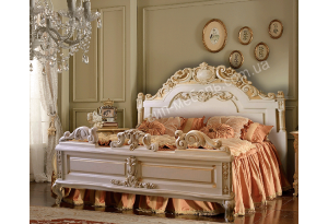 Кровать Патриция из массива дерева дуб