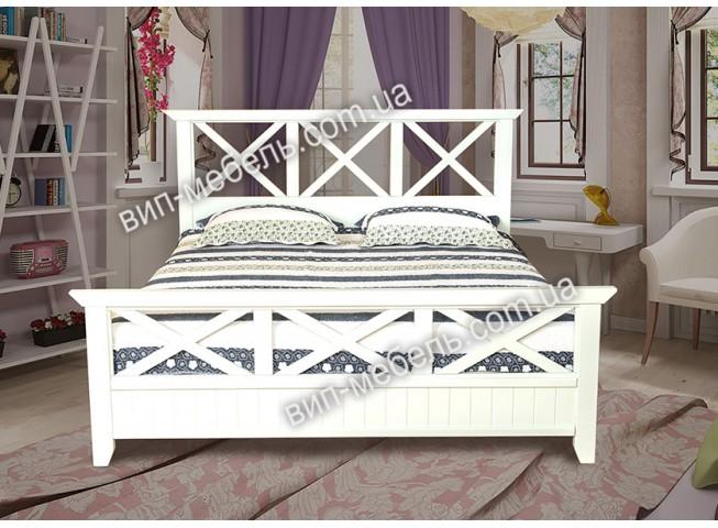 Кровать Софи из массива дерева