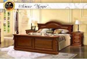 """Кровать """"MONRO"""" из массива дерева дуб"""