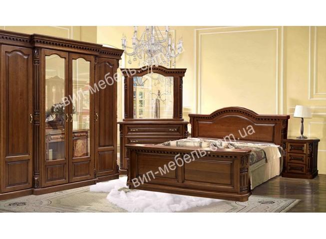 Комплект спальня Монро из массива дуба