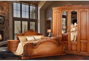 Спальня Сандера из массива дуба