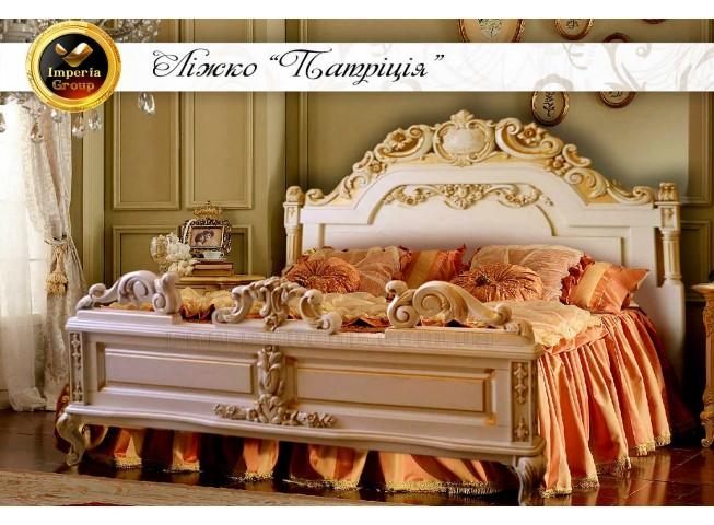"""Кровать """"PATRICIA"""" из массива дерева дуб"""