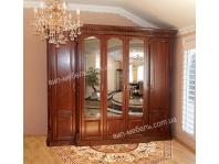 Шкаф Монро 2-дверный из массива дерева дуб
