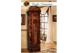Шкаф1-дверный  Император из массива дерева дуб