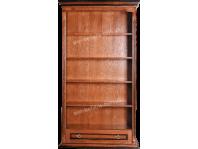 Шкаф для книг Мерлин из натурального дерева