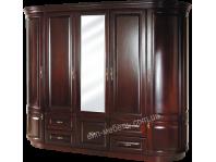 Шкаф двухрадиусный Сириус из натурального дерева