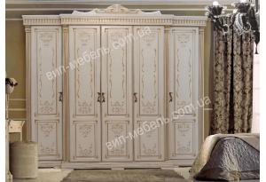 Шкаф Версаль 5-дверный из массива дерева дуб