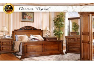 Комплект спальня Верона из дуба
