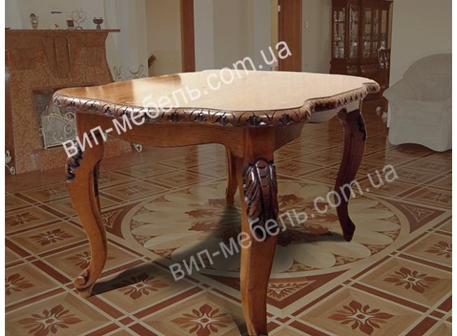Журнальный стол Монро из массива дерева дуб