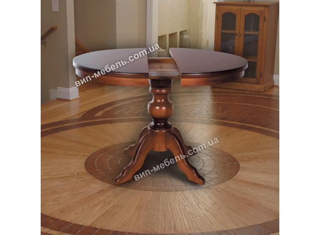 Стол из натурального дерева Ванесса круглый