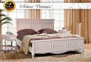 """Кровать """"VENECIA"""" из натурального дерева"""