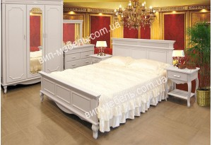 Спальня Венеция из натурального дерева