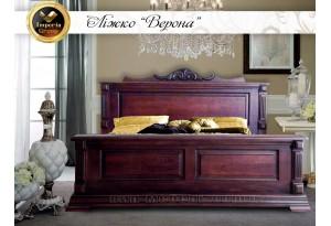 """Кровать """"VERONA"""" из массива дуба"""