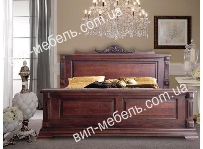 Кровать Верона из массива дуба