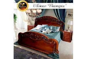 """Кровать """"VICTORIA"""" из отборного массива дуба"""