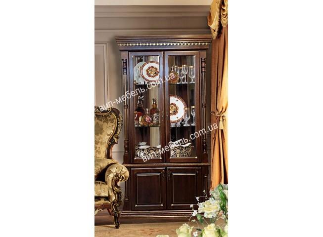 Витрина 2-дверная Монро Gold